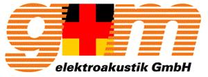 GM Elektroakustik GmbH Logo