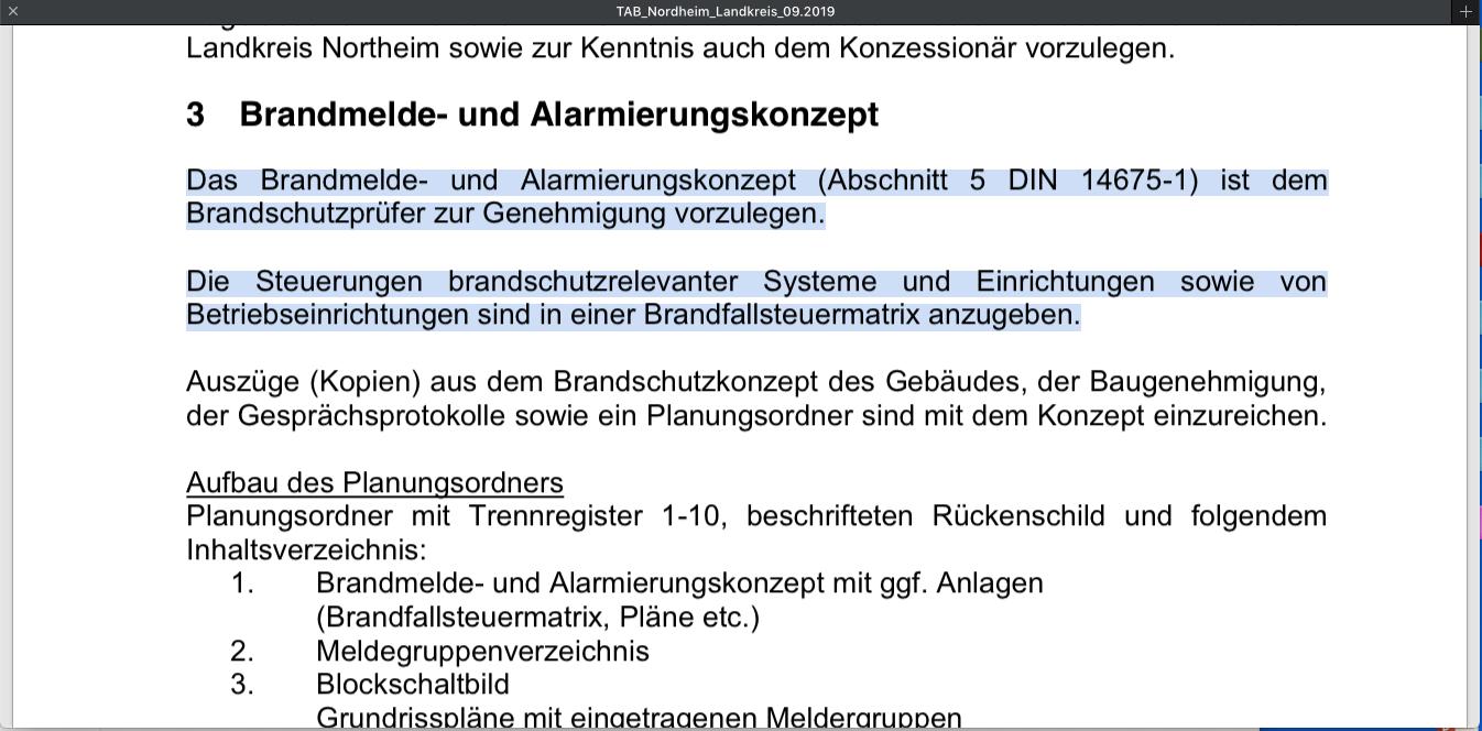 TAB Feuerwehr Nordheim -Landkreis